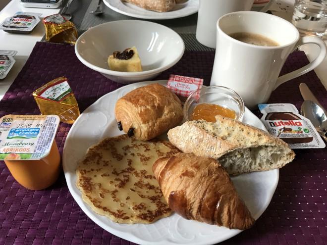 フランスの朝食~ホテル編~