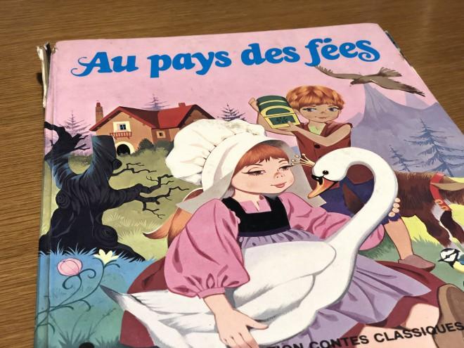 フランス語で読み聞かせ