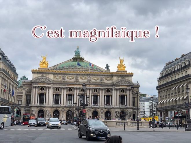"""今フランスで流行っている言葉""""C'est magnifaïque !"""""""