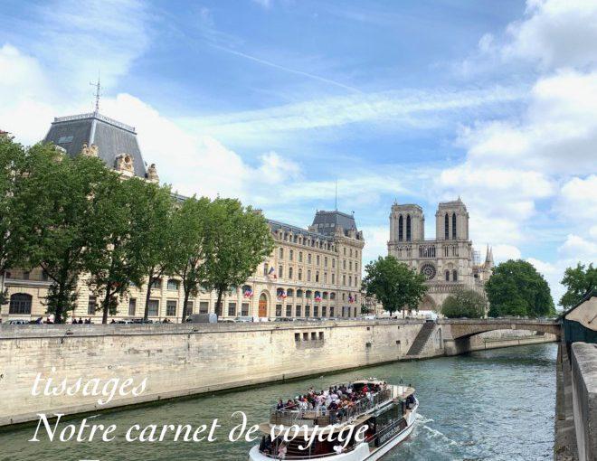 「旅するティサージュ2019 Paris」の旅行報告ページを作りました