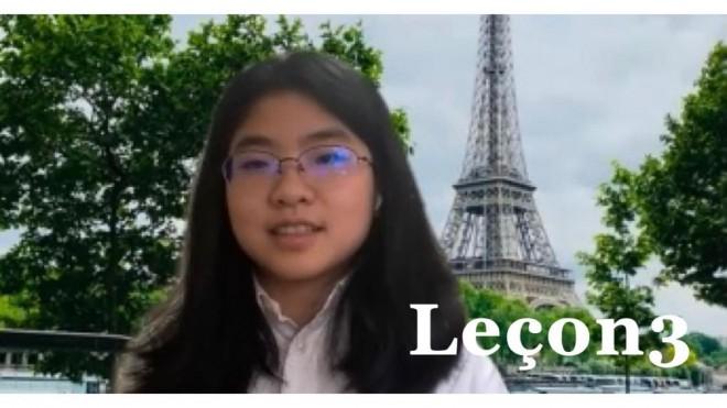 中学3年生Lucaのゴールデンウィーク6日間・フランス語発音レッスン 〜Leçon 3  Lの発音〜
