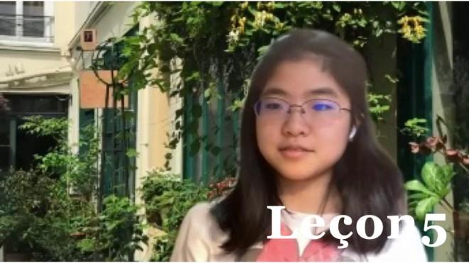 中学3年生Lucaのゴールデンウィーク6日間・フランス語発音レッスン 〜Leçon 5 アクセント記号〜
